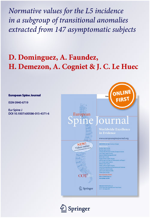 Publications - Research - Fasterspine